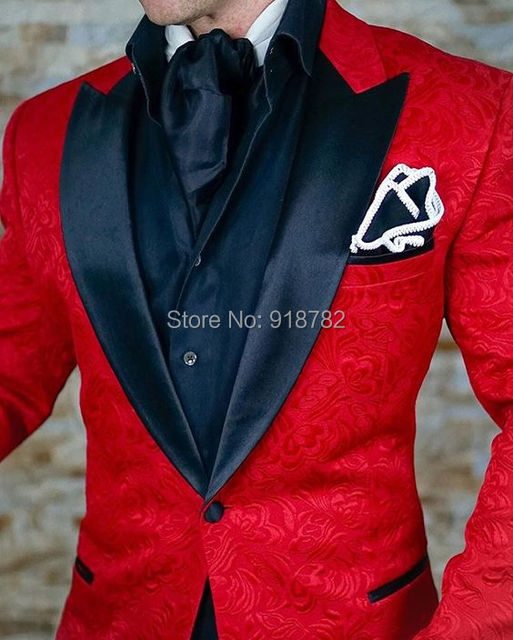 f358f7ba Terno-Masculino-2018-nuevos-dise-os-esmoquin-rojo-abrigo-con-pantal-n -negro-Jacquard-estampado-hombres.jpg_640x640.jpg