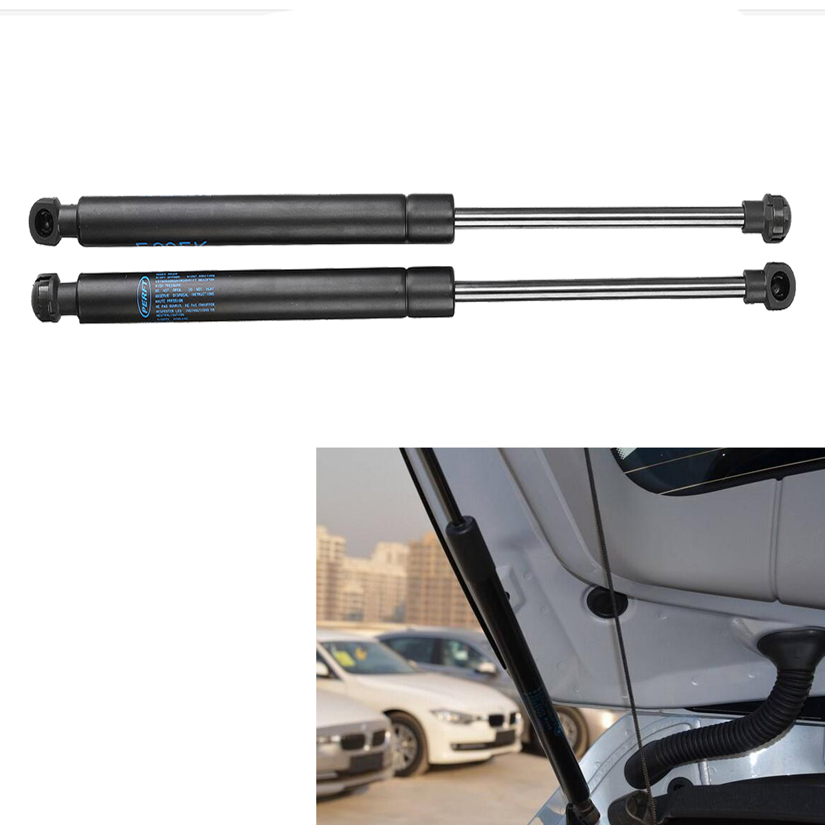 High Quality 2pcs Car Front Bonnet Hood Lift Supports