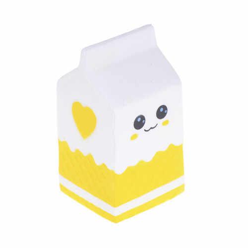 Сжимающаяся медленно поднимающаяся персиковая попкорн молочная собака лицо медведь антистресс мини Сжимаемый лед для выдавливания крема игрушка кляп игрушки кулон мягкими