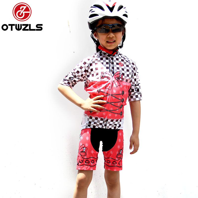 Children Girls Kids Cycling Jersey Set Bike Kids Cycling Clothing Pro Team MTB Bicycle Suits 12 14 16 kids bike children bicycle for 2 8 years boy grils ride kids bicycle with pedal toys children bike colorful adult