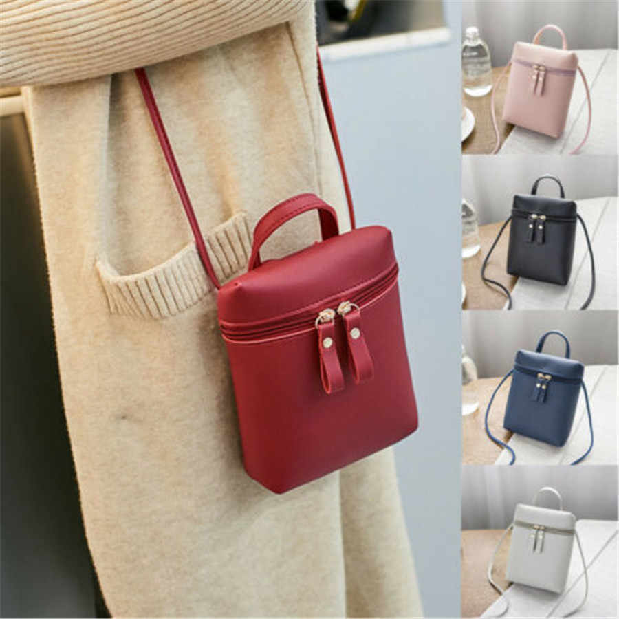 2019 Brand New Style Women Lady Crossbody Messenger Bags PU Leather Satchel Lady Handbag Shoulder Bag