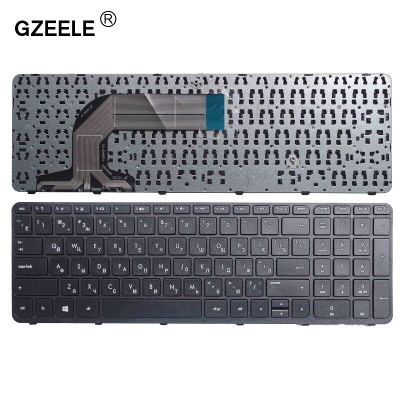 GZEELE RU Russian Keyboard FOR HP Pavilion 17-e004er 17-e011sr 17-e012er 17-e012sr 17-e013sr 17-e014sr 17-e015sr 17-e016er Black