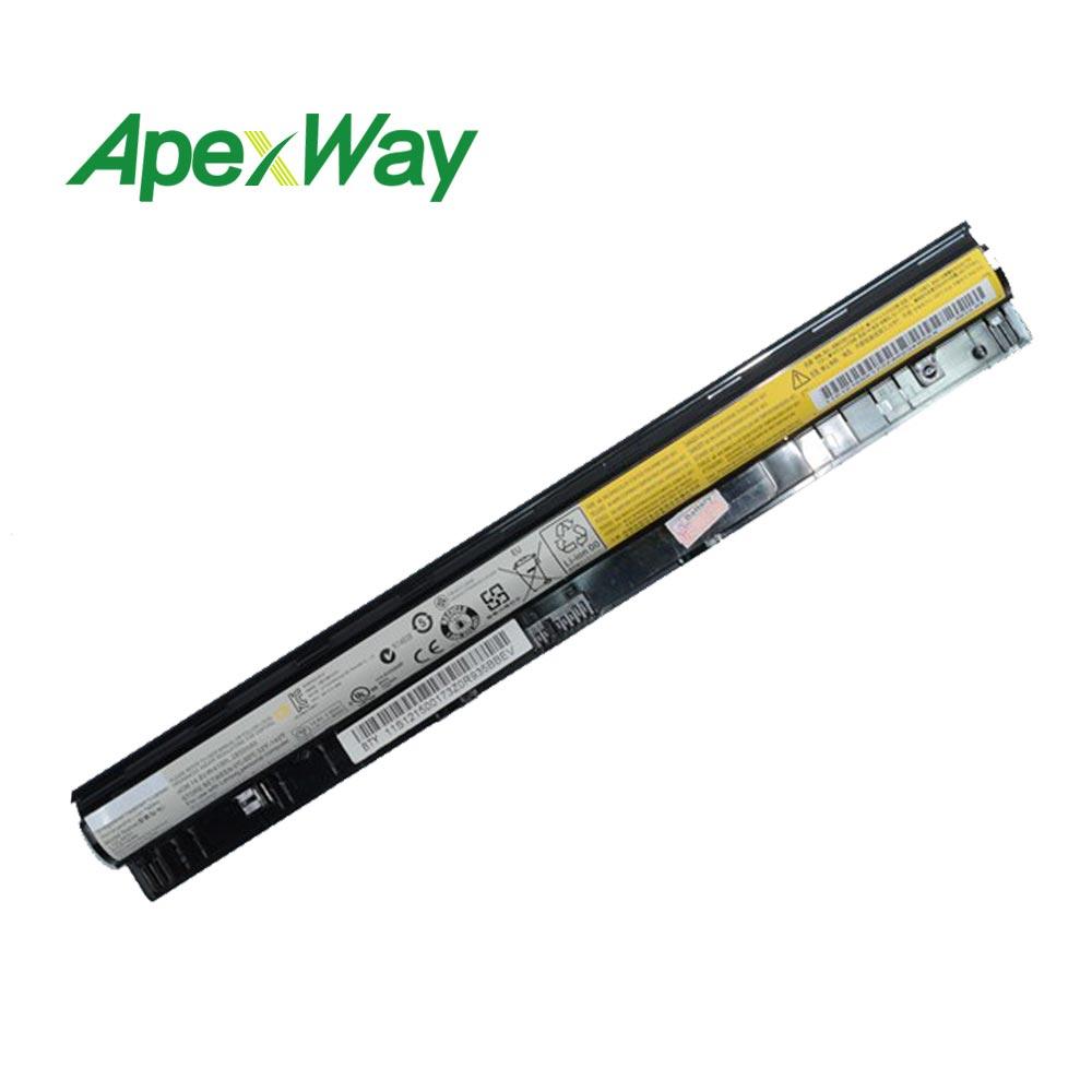 2200 mah 14.4 v Batteria per Lenovo L12M4A02 L12M4E01 L12S4A02 g505s G400S G500S L12S4E01 Z40 Z50 G40-45 G50-30 G50-70 G50-75