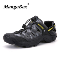 Mountain Sandals Rubber Bottom Outdoor Shoes Men Comfortable Summer Shoes Lightweight Elastic Band Sport Sneakers