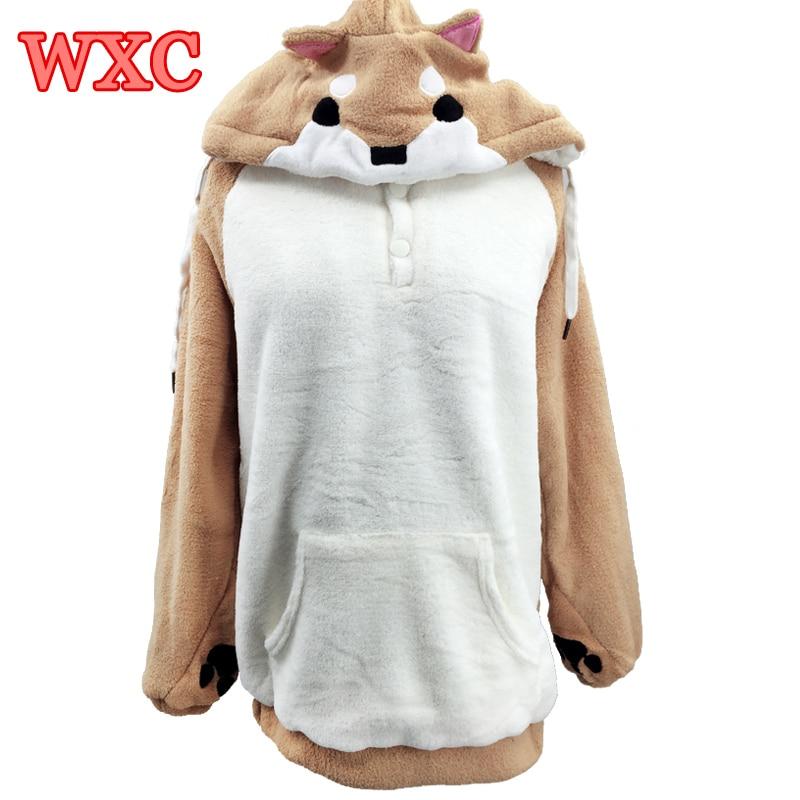 Dogen Frauen Hoodies Ohr Hoodie Pouch Damenbekleidung Pullover - Damenbekleidung - Foto 4