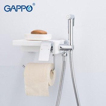 GAPPO bidet faucets shower sprayer toilet faucet  multifunctional water taps for bathroom shelf holder