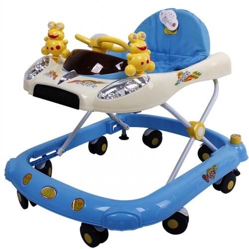 Новый Многофункциональный Складной Малыш Прогулки обучения автомобиль Портативный безопасный крытый/Открытый малышей Детские машинки