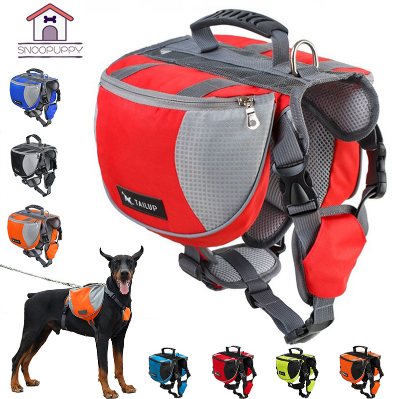 Dog Harness For Large Dogs Puppy Harness Backpack Carrier Pet Vest Harness Outdoor Training k9 Dog Harness For Small Dogs PY0025