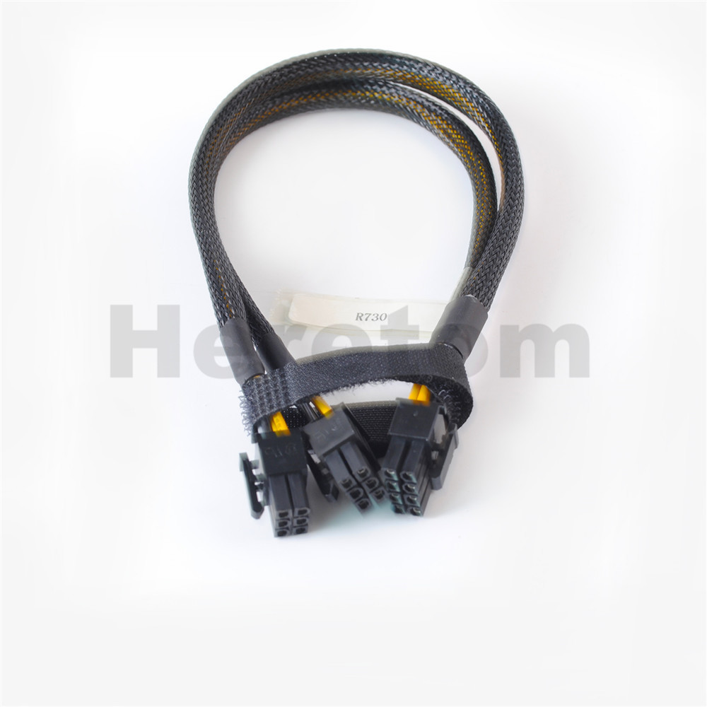 New 8pin to 6+6pin GPU Video Card Power Adapter Cable 35CM