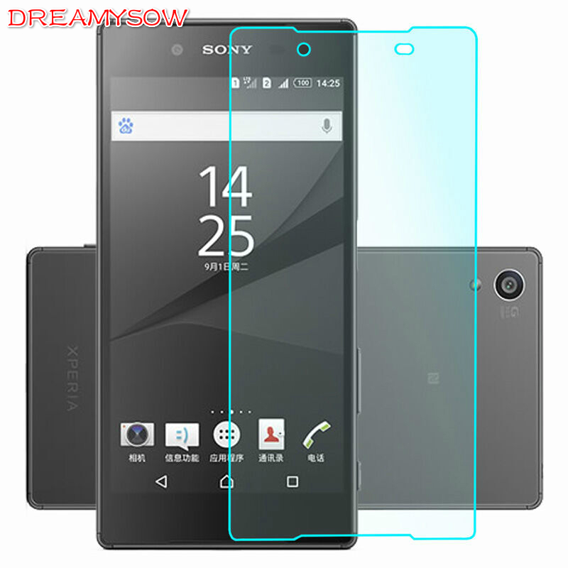 9H Tempered Glass For Sony <font><b>Xperia</b></font> Z1 Z2 <font><b>Z3</b></font> Z4 Z5 <font><b>Z3</b></font>/Z5 Premium Z5 Compact T2 M5 ZL36H L36H Toughened Screen Protector <font><b>Cover</b></font> Film