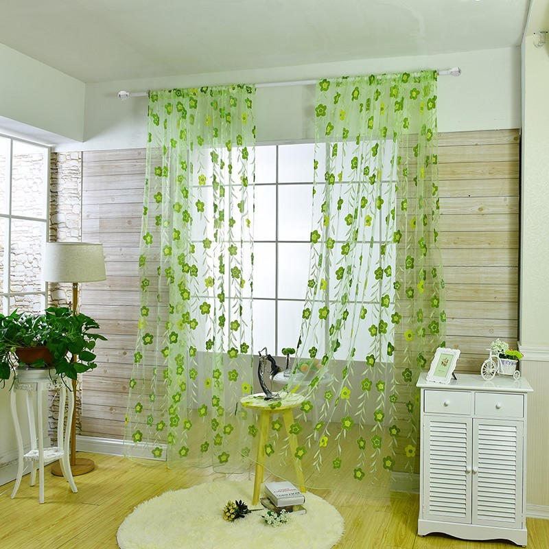 floral tulle sheer curtain (13)
