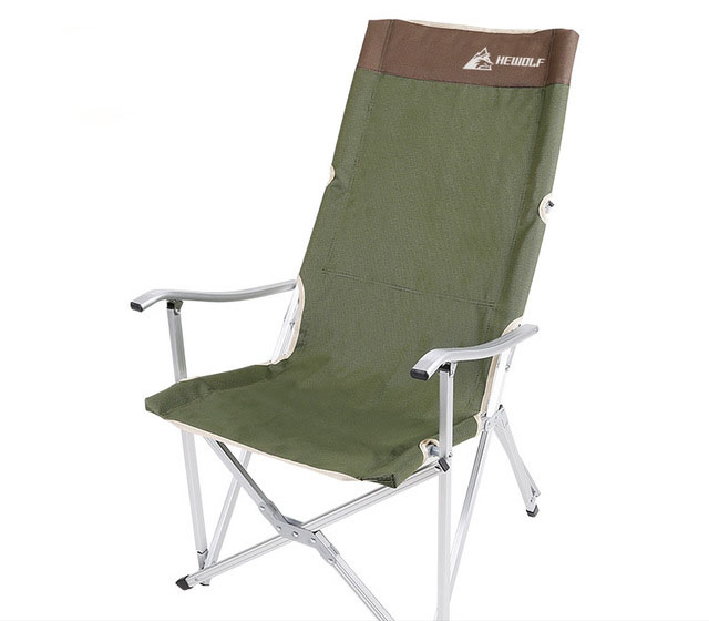 Outdoor Folding Recliner Portable Back Fishing Chair Wild
