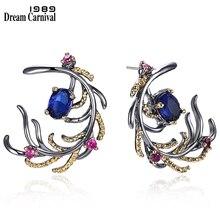 DreamCarnival1989 nowości Feather Look elegancka łezka kolczyki dla kobiet musi mieć gorącą sprzedaż specjalna moda biżuteria WE3856