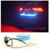 MGTV LIGHT Auto Car Tailgate Turning Signal Light Bar RGB LED Strip Trunk Light Strips Multicolor