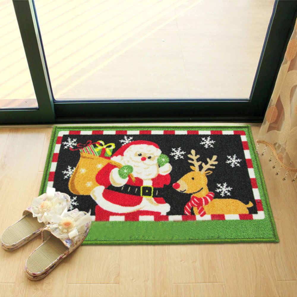 Christmas Day Old Deer Pad Mattress Floor Non Slip Carpet China