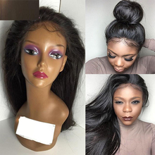Virgin Brazilian Human Hair straight lace Wig virgin Hair Full Lace Wig human hair Glueless Full Lace Front Wigs for black women