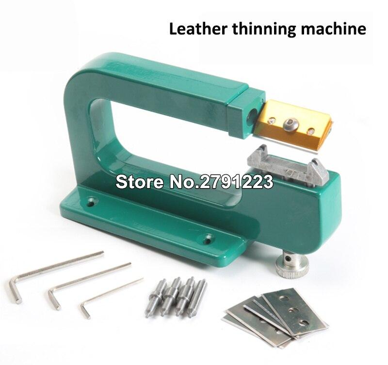 High Quality Leather Craft Splitter Skiver Paring Peeling Machine Edge Cut Skiving Shovel DIY Leather Thinning Machine