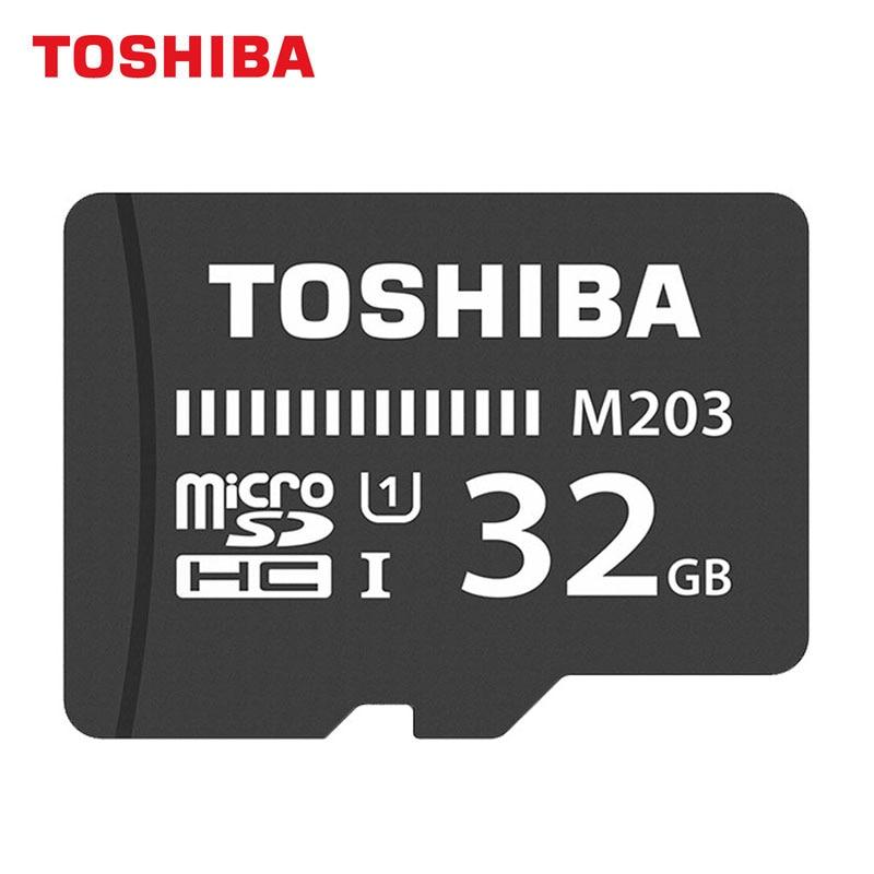 Galleria fotografica <font><b>TOSHIBA</b></font> Memory Card 16GB 32GB 64GB 128GB Trans Flash Card Storage MicroSD Card U1 C10 UHS-I For Driving Recorder Read 100MB/s