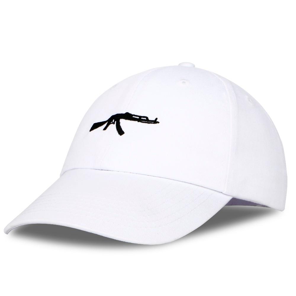 PATESUN Top Sell Machine Guns Baseball Cap Fashion 2017 Snapback hip hop Cap Curve Visor 6 panel Dad Cap Hat casquette de marque