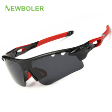 NEWBOLER Polarized Sport Fishing Sunglasses for Men and Women UV Impact Eye Protection Sport Glasses Outdoor Fishing eyewears