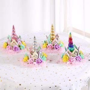 Image 5 - QIFU שמח יום הולדת בלוני Unicorn בלונים סט Unicorn יום הולדת בלון לטקס בלון יום הולדת בלוני קישוטים למסיבת ילדים