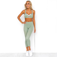 Female Sport Suit Women Fitness Clothing Sport Wear Yoga Set Gym Jogging Suits Sportswear Running Leggings Women Set sport suits women jumpsuit sporting yoga set suits for fitness jogging girl running tracksuits exercise tight suits wear 013