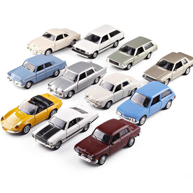 Carros Nacionais Brazilian CHEV Ford ALFA ROMEO WILLYS DKW Diecast Model Car Vehicle Pull Back Toy Car Model Vintage Car