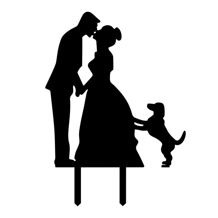 4 색 미스터 & 부인 아크릴 러브 웨딩 케이크 플래그 토퍼 케이크 플래그 웨딩 기념일 파티 케이크 베이킹 장식 뜨거운 판매