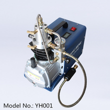 4500PSI 30mpa 300bar yong heng kompresörü pcp pompa hava kompresörü elektrikli hava pompası için tankı gaz dolum 110V 220V
