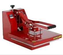 flatbed manual heat press machine sublimation