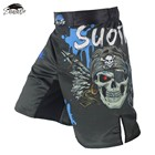 @1  3 Colors KickBoxing Skull Fight Boxing Fitness MMA Grappling Shorts Kick Boxing Cage Fight Muay Thai ✔