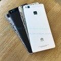 Передняя Корпус ЖК Рамка Рамка Плиты + Задняя Крышка Батареи для Huawei P9 Lite Полный Крышку Корпуса С Заменой Кнопки