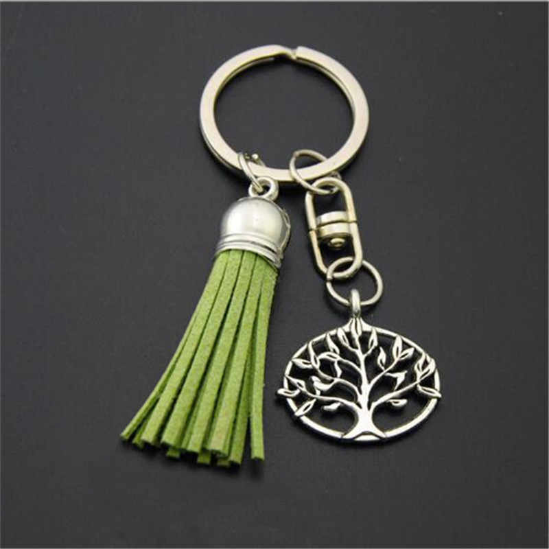 b9c5d31613 Detail Feedback Questions about 1PC Green Tassle Key Chains Tree ...