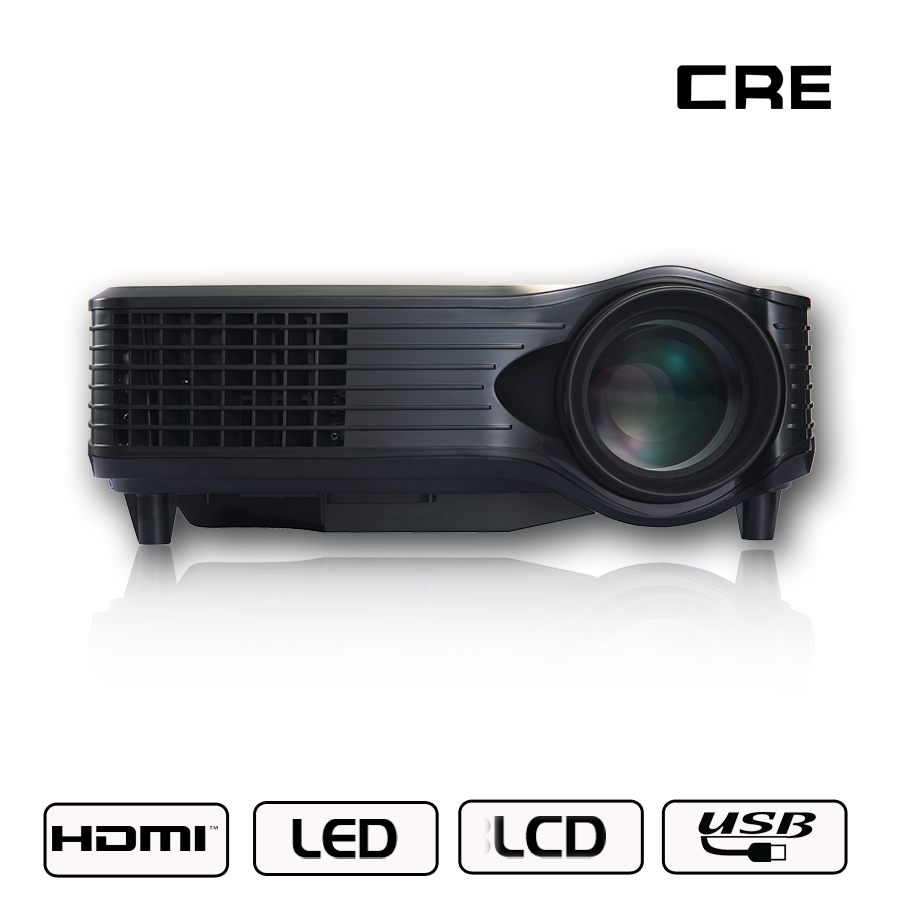 345e7644845a35 Cheap Digital 1500 Lumens RGB LED Projector Rohs Mini China Video 1080p  Projector for Home Cinema Movie TV-in LCD Projectors from Consumer  Electronics on ...