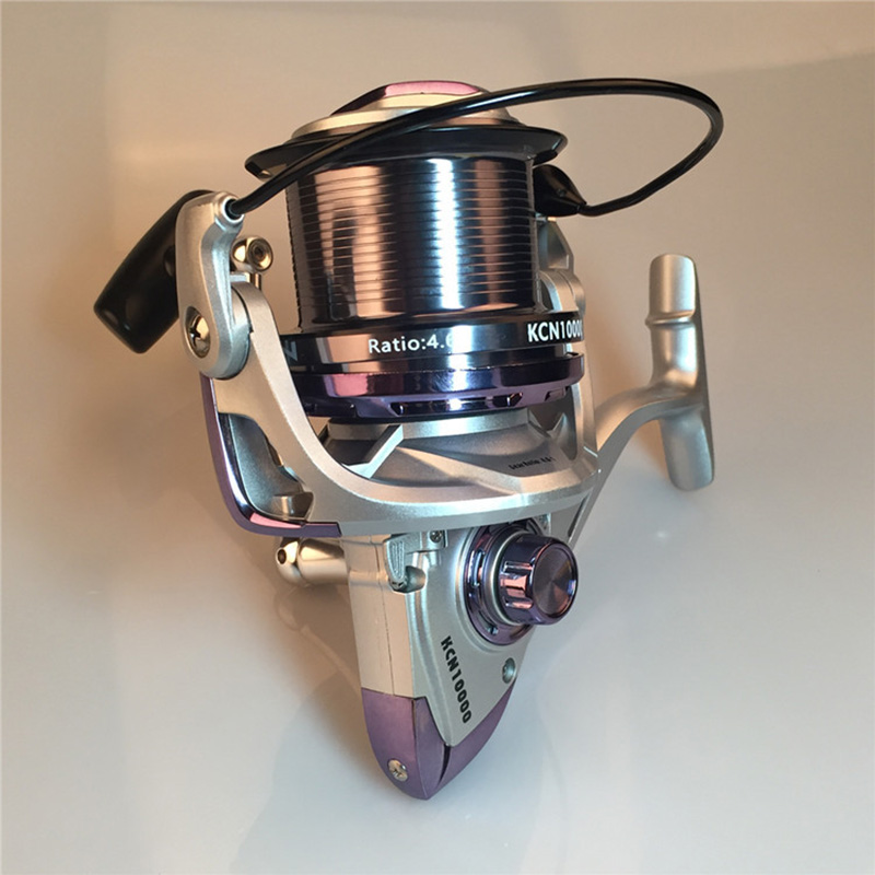 High Speed Spinning Fishing Reel Carp Spinning Fishing Reel Professional Wheels KCN8000 KCN10000 KCN12000