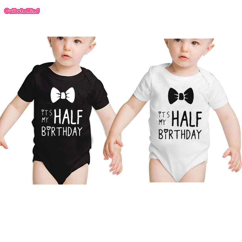 Culbutomind Twins Baby Clothes Half Birthday Boy Outfit ...