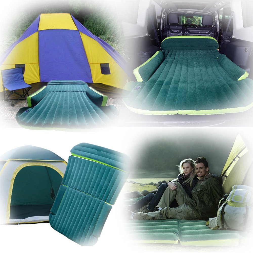 Wholesale 6pcs/lot SUV Inflatable Air Mattress Car Back Seat Rest Sex Bed car-styling car covers styling for outdoor camping DHL outdoor camping car back seat cover air mattress travel mat bed inflatable mattress air inflatable car bed with inflatable pump