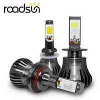 Car Fog Lamp Bulb Lights H8 H9 H11 H3 880 881 H27 LED Auto Headlamp 12V 55W White Blue Yellow Automobile Daytime Running Light