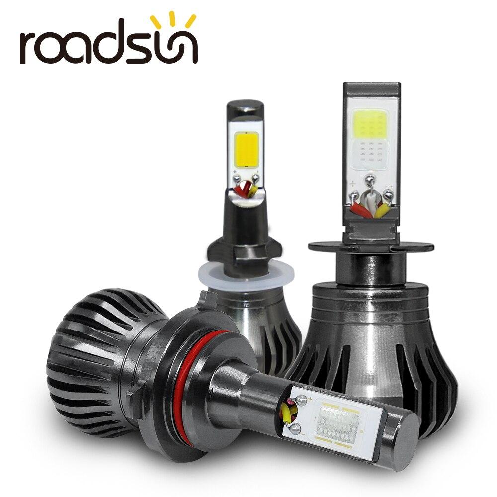 Auto Nebel Lampe Leuchtet H8 H9 H11 H3 880 881 H27 LED Auto Scheinwerfer 12 v 55 watt Weiß blau Gelb Automobil Tagfahrlicht Licht