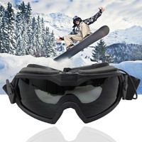 FMA New Tactical Glasses Regulator Goggle Eyewear Protection Regulator Fan Version Goggle Anti Dust Ski Glasses