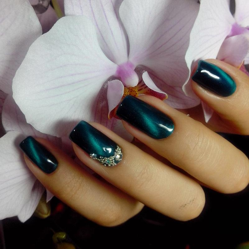 Guaranteed 100% gel nail polish canary charm 6pcs gel set cat eyes ...