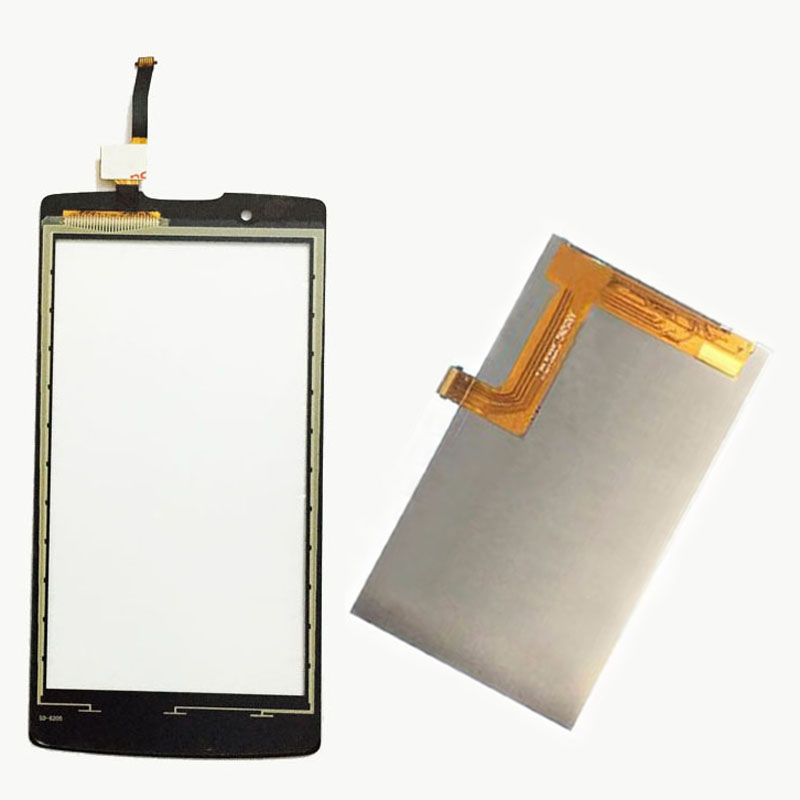 Black / White For Lenovo A2010 Angus 2 A 2010 Touch Screen Digitizer Sensor Glass + LCD Display Screen Panel Monitor