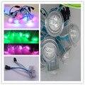 Ws2801 IC LED Pixel iluminação 26 MM RGB SMD5050 impermeável IP68 LED Pixel módulo de LED de luz