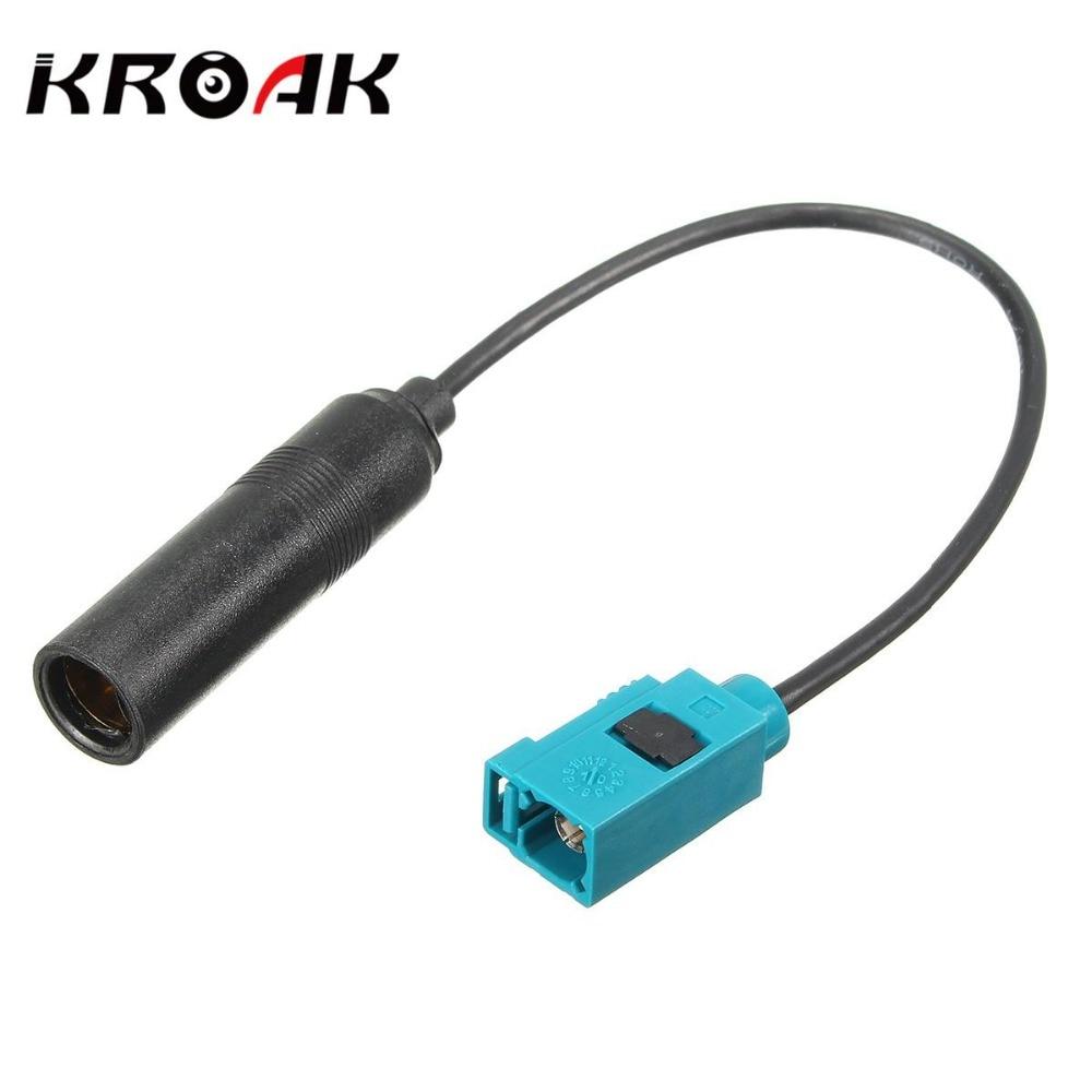Car Radio Aerial Antenna Adaptor Connector Cable Head