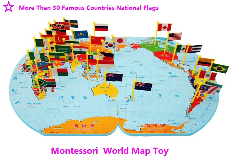 Newest large montessori map montessori materials more than 30 aeproduct gumiabroncs Images