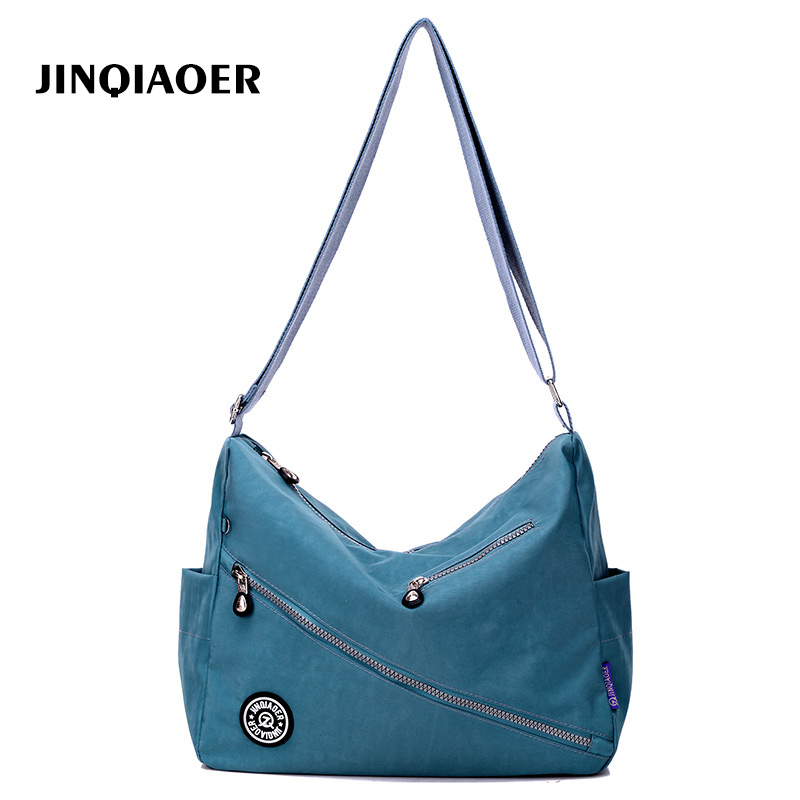 купить Female Bag Beach Shoulder Bags Handbags Women Famous Brands Bolsa feminina Purse Nylon Crossbody Bag 11 Color Sac A Main онлайн