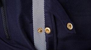 Image 5 - ブランド男性シャツ2020ファッションデザインメンズスリムフィットコットンドレスシャツスタイリッシュな長袖シャツシュミーズオムカミーサmasculina