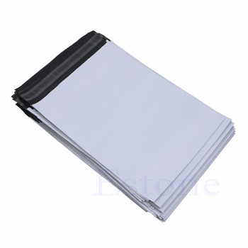 100Pcs 20*34cm Poly Mailer Plastic Shipping Mailing Bags Envelope Polybag New Paper Envelopes