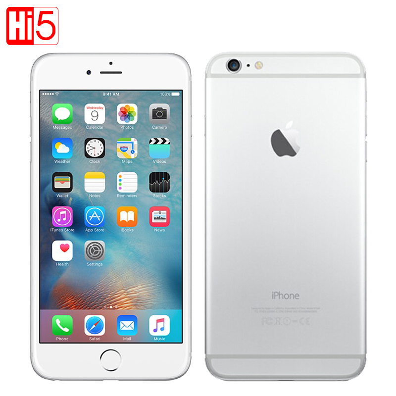 Unlocked Apple iPhone 6 plus Dual Core 16GB/64GB/128GB ROM 5.5 IOS 8MP Camera 4K video LTE fingerprint Single SIM smart phone