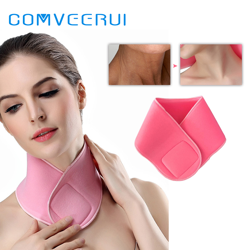 Neck Mask Spa GEL Anti Aging Skin Care Firming Collagen Mask For Neck Wrinkles Remove Whitening
